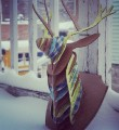 Link to(ré)création #1 - Un trophée tête de cerf en carton