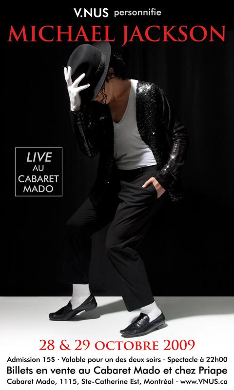 «This is it» au Cabaret Mado!