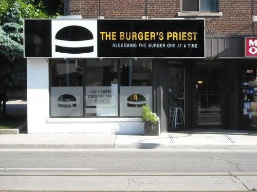 Burger Priest Toronto