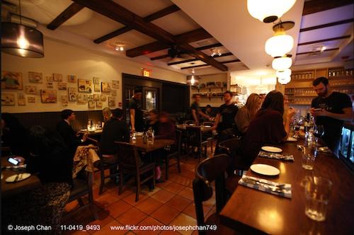 Enoteca Sociale Italian Restaurant Toronto