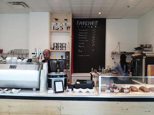 Fahrenheit Coffee Shop Toronto