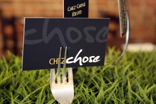 Restaurant Chez Chose Plateau Montreal