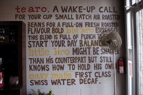 Te Aro Coffee Shop Toronto