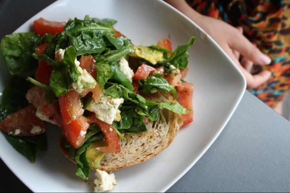 Byron Bay Australia Bayleaf Salad