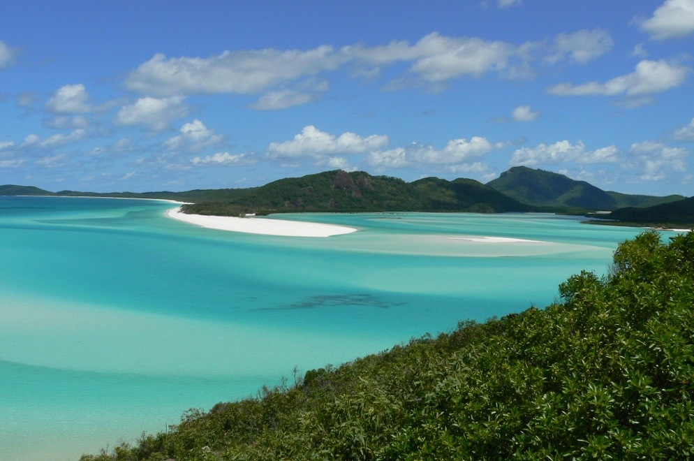 whitehaven Beach withsundays australia