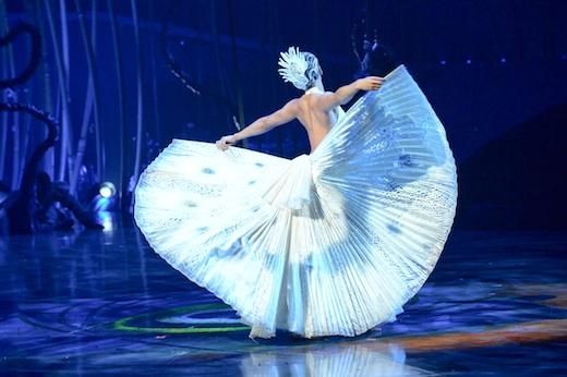 Amaluna Cirque du Soleil Montreal -Danse Du Paon