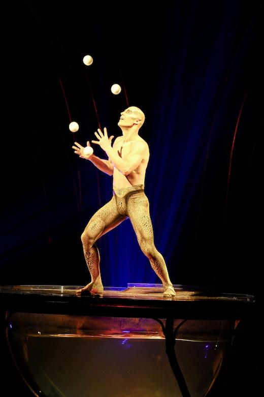 Amaluna Cirque du Soleil Montreal - Jonglerie