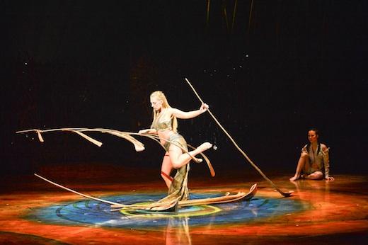 Amaluna Cirque du Soleil Montreal - Manipulation