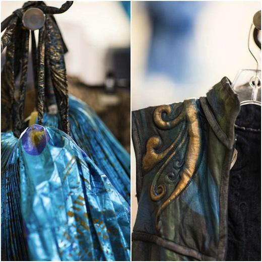 Coulisse Amaluna Cirque du Soleil - Costumes Details