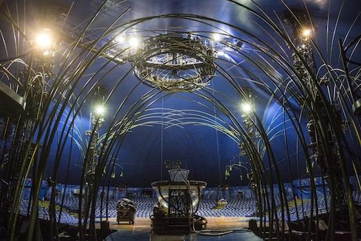 Coulisse Amaluna Cirque du Soleil Montreal