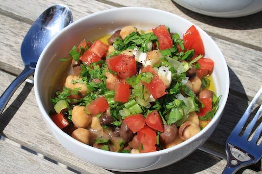 gastronomie libanaise petit dejeuner foul