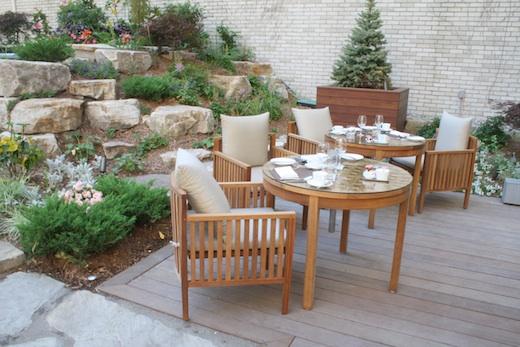 Breakfast at maison boulud une parisienne montr al - Terrasse jardin botanique montreal poitiers ...