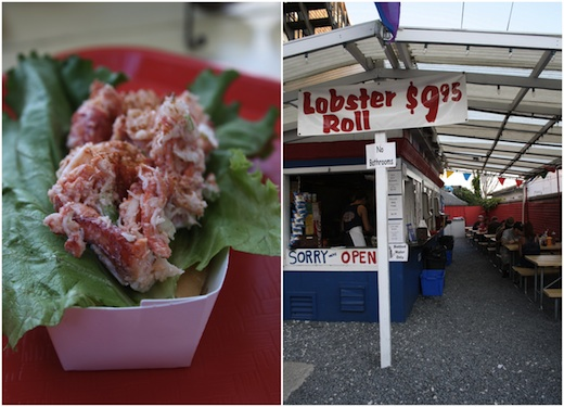 Lobster Roll Provincetown