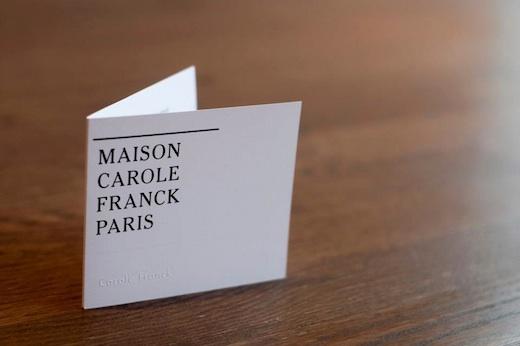 le luxe fleur de peau chez carole franck paris une parisienne montr al. Black Bedroom Furniture Sets. Home Design Ideas