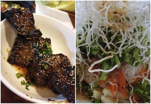 Kazu - cou de porc et bol thon saumon