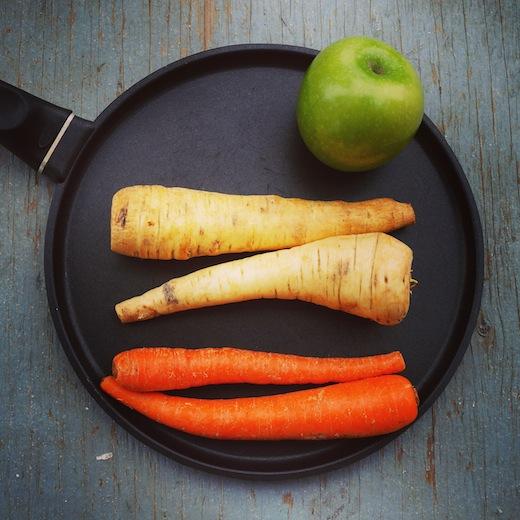 recette simple pancake légumes montreal