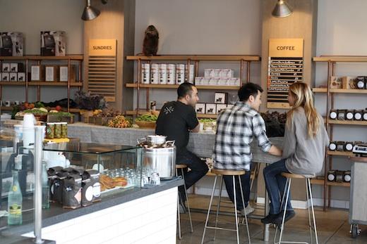 Coffee Shop Handsome Los Angeles