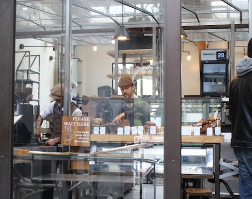 Intelligentsia Coffe Shop LA