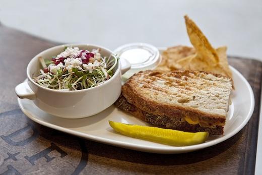 Sandwich De farine et deau fraiche