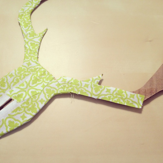 diy tete de cerf carton progression 3