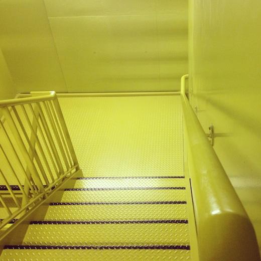 escalier vert maison developpement durable montreal