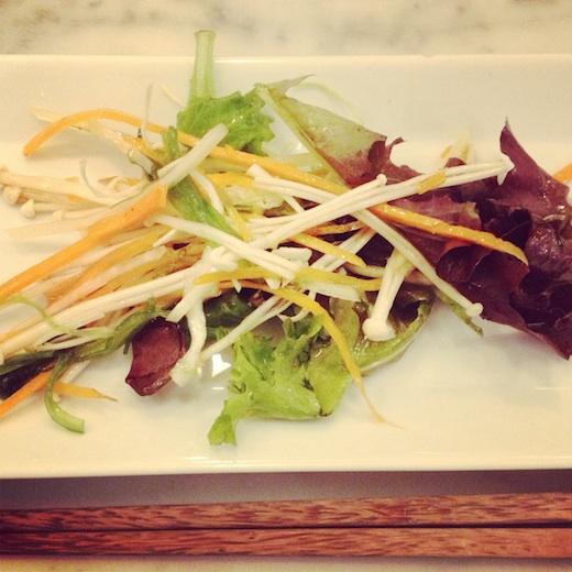restaurant sushi tri express montreal salade