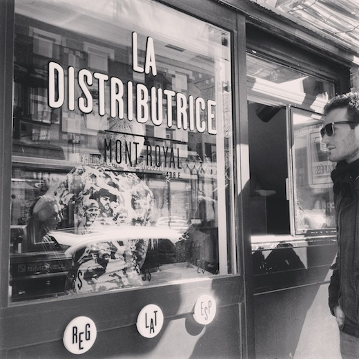 la distributrice cafe montreal 2