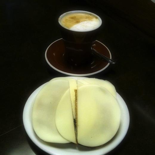 Caffe Italia Montreal - Toast arachide provolone