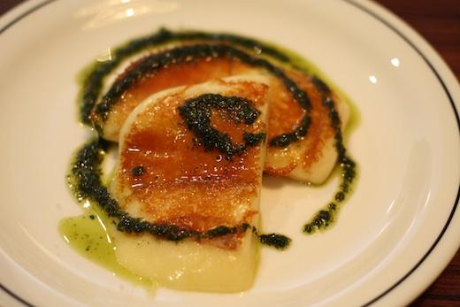 Brunch La Bete a Pain - Provolone grille origan frais et huile dolive