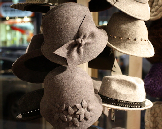 boutique ophelie hats montreal