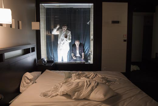 2050 Mansfield – Rendez-vous à l'hôtel