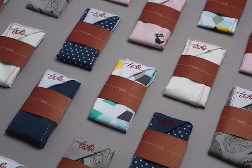 TSHU : des mouchoirs en tissu éthiques, écolos et rigolos!