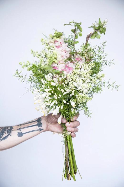 Le montr al de gar on fleur une parisienne montr al - Bouquet de fleurs sauvages ...