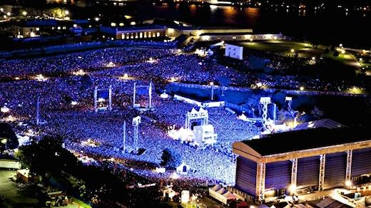 Festival dete de Quebec - The Rolling Stones - Maxime Comeau