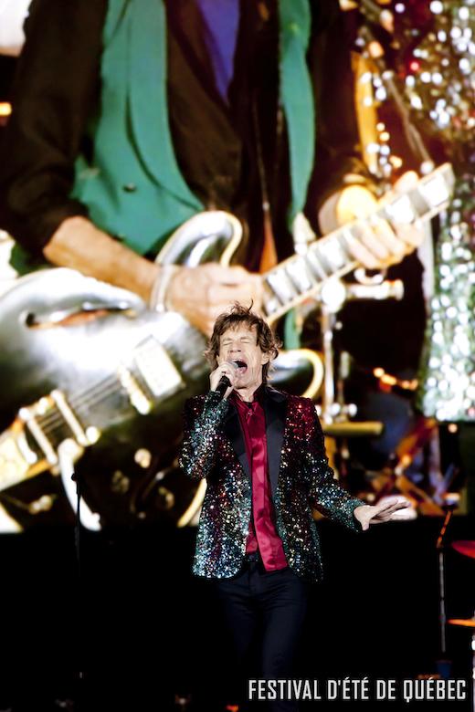 Festival dete de Quebec - The Rolling Stones - Philippe Ruel