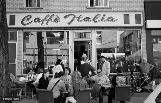 cafe italia susan moss
