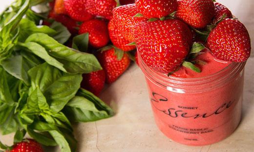 sorbet-fraise-basilic-essence-maitre-glacier