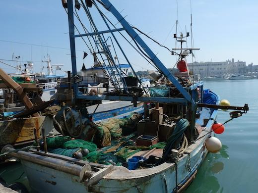 Port de Tani Italie Pouilles