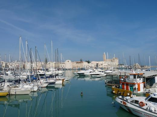 Port de Trani Pouilles