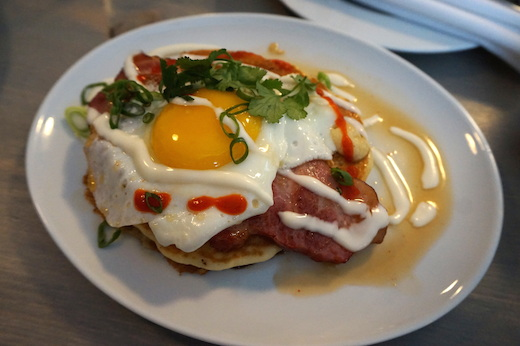 brunch petite maison mile end pancake