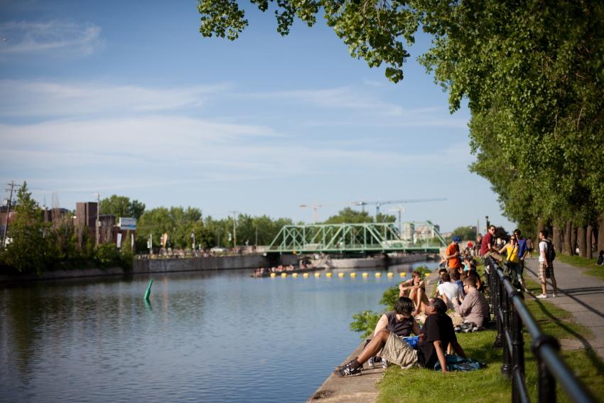 petite bourgogne canal de lachine photo susan moss pour Tourisme Montreal