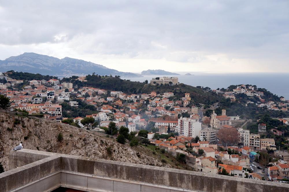 vue de la Basilique Notre-Dame-de-la-Garde Marseille