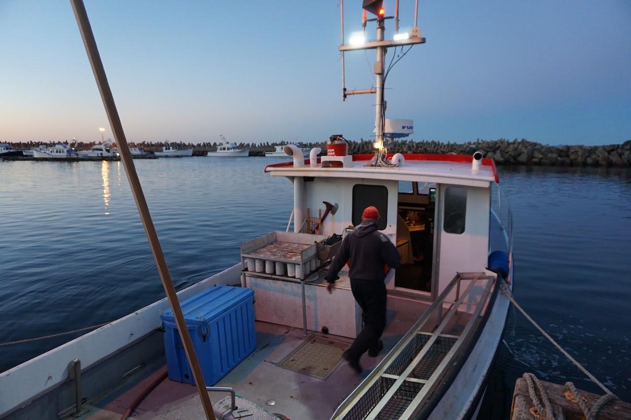 Les Iles de la Madeleine homardier