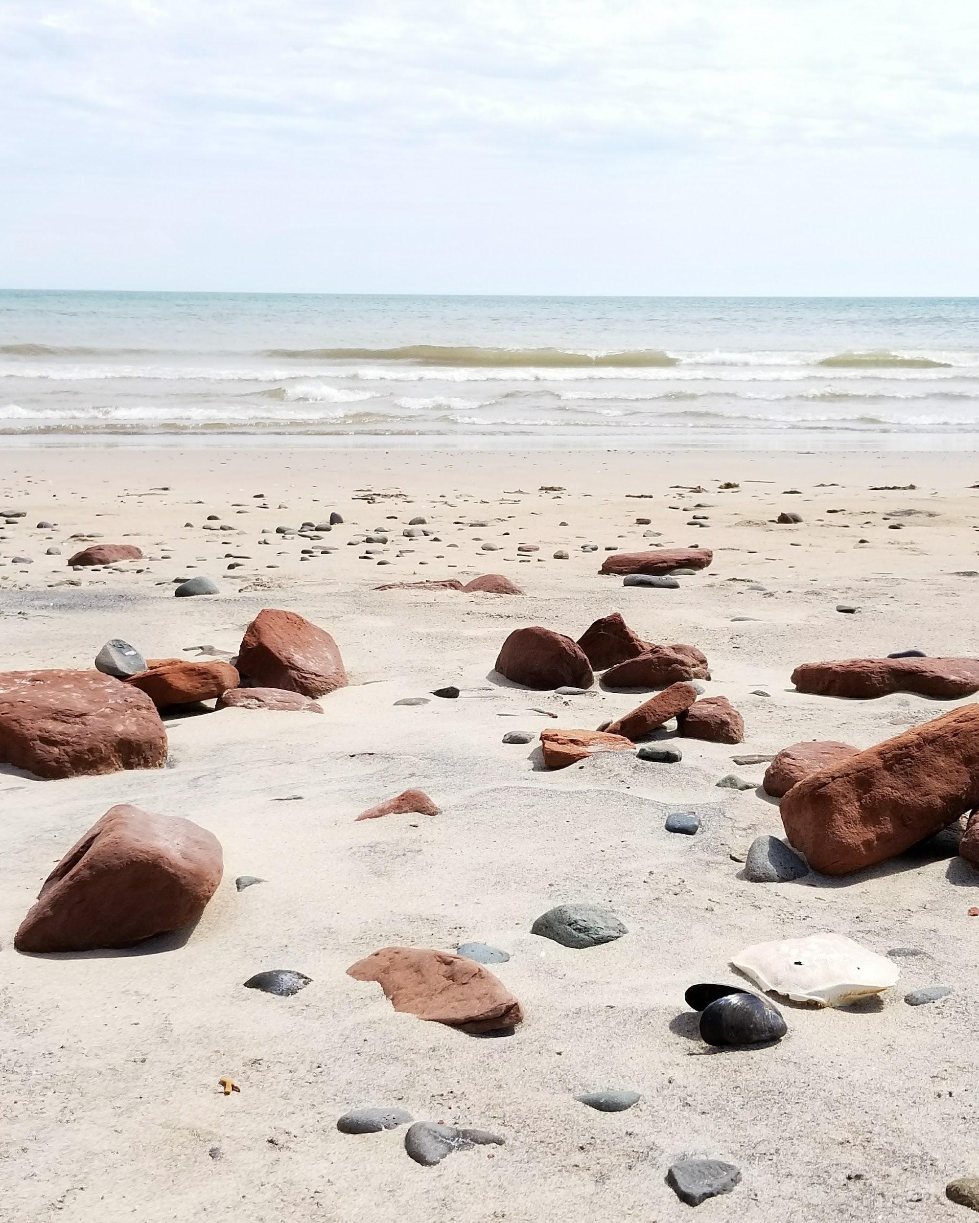 Les Iles de la Madeleine plage bassin-min