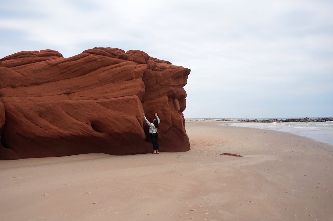 Les Iles de la Madeleine plage de la dune du sud