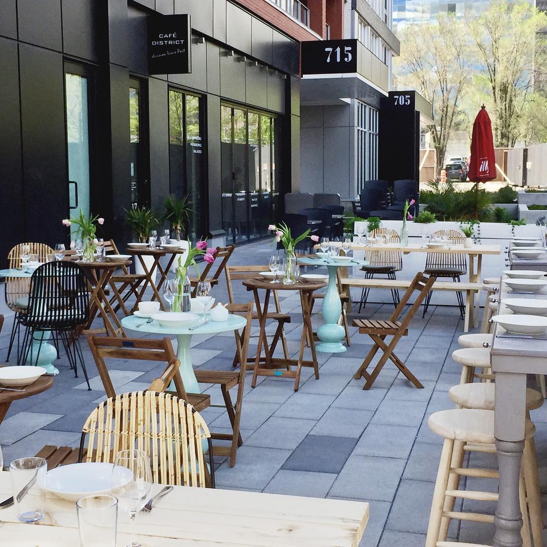 terrasse restaurant melisse vieux montreal