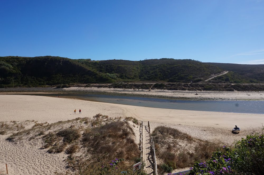 riviere de seixe plage odeceixe-min