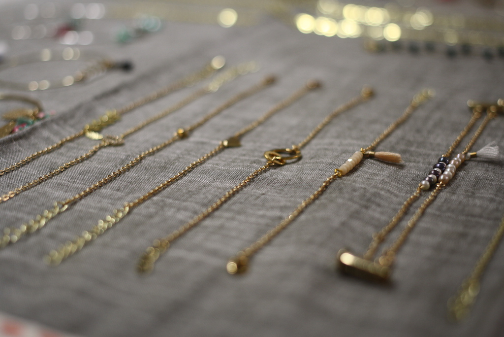 Plum Bijoux collection minimaliste